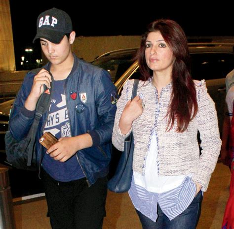 Spotted: Akshay Kumar with Twinkle Khanna and son Aarav at ...