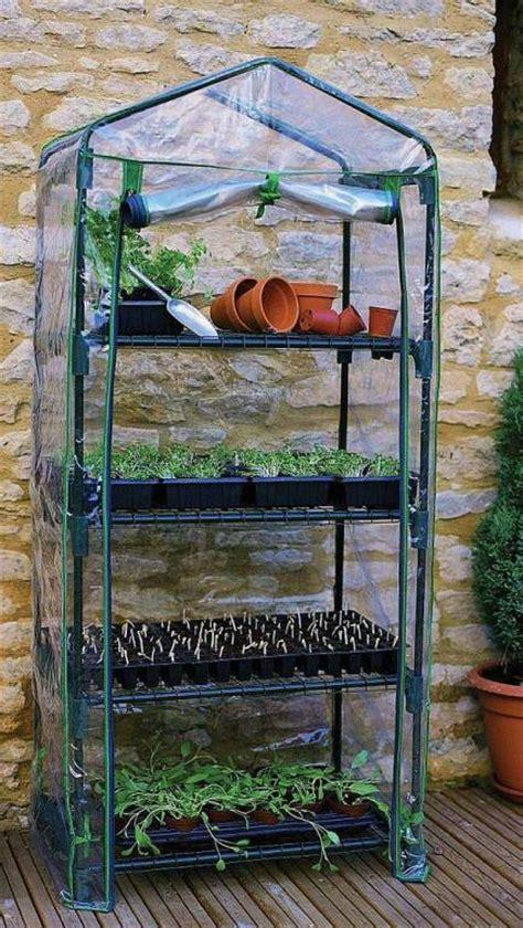 small green house 4 tier mini greenhouse r687
