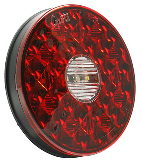 4 inch round led tail lights with reverse new 4 inch round led stop tail turn with integrated back up