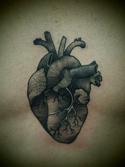real heart tattoo 6 real human tattoos