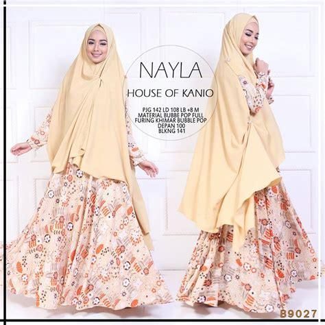 Nayla Merah nayla by kanio jual busana muslim