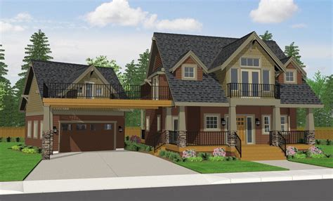 craftsman cottage house plans garage house style and