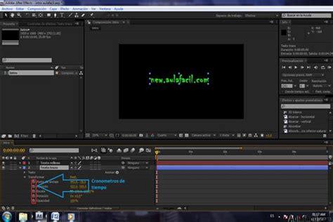 el cronometro b1 edicion curso gratis de after effects c 243 mo hacer efectos para videos cron 243 metro de variaci 243 n de