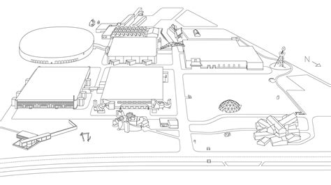 Site Plan Drawing Online vitra campus architecture