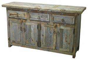 Buffet Tables And Sideboards Barnwood Buffet Rustic Buffets And Sideboards