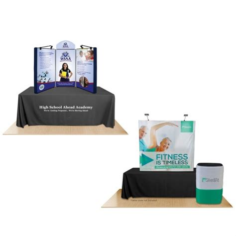 table top display table top displays fast turnaround affordable exhibit