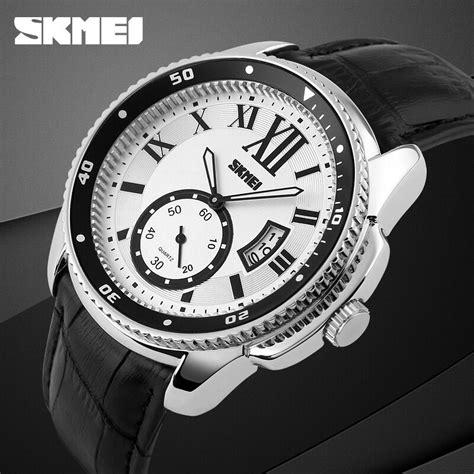Jam Tangan Pria Skmei 1135 Cl skmei jam tangan analog pria 1135cl silver black