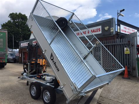 tipping trailers ifor williams power tipper trailers for