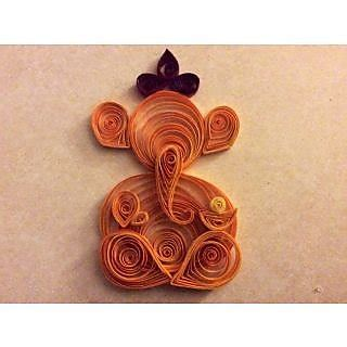 handmade quilling paper ganesh for home decor buy