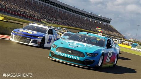 nascar heat   update brings extended driver roster playstation universe