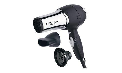 Hair Dryer Conair Vs Revlon revlon 1875w chrome turbo dryer groupon goods