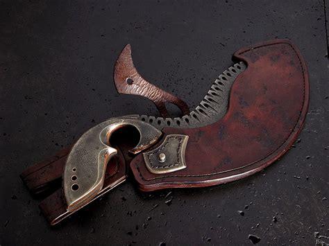 cpm s35vn steel custom knife 166