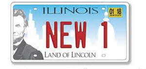 how to get license plates for a new car here s what illinois new license plate looks like