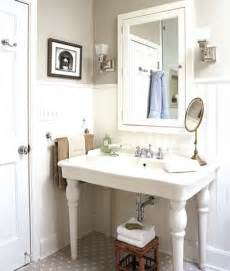 style sink updated vintage bath before and after