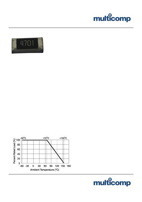 thick resistor lifetime mc0063w060351k2 datasheet pdf pinout thick chip resistor