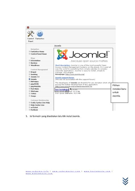 cara mudah membuat website menggunakan joomla joomla cara cepat mudah membuat website
