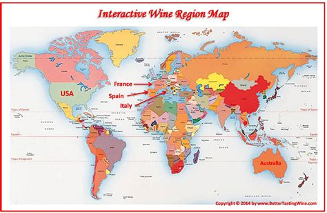 wine map wine region maps images