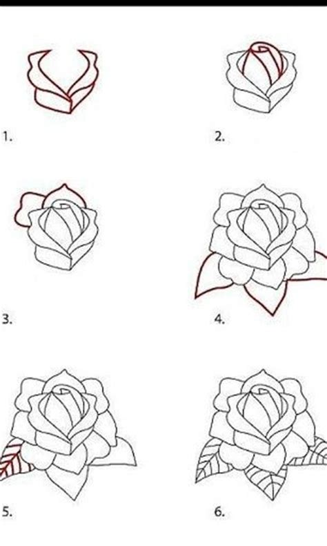 rose tattoo tutorial pencil drawing tutorial buscar con fichas como