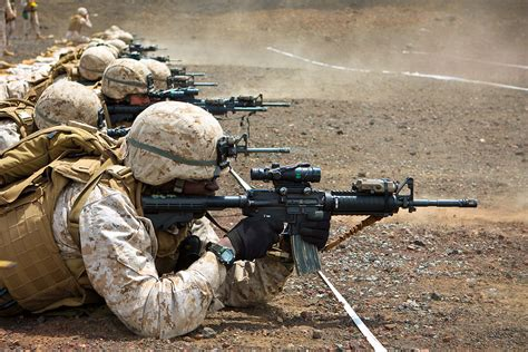 Us Army Finder Marines Adopt M4 Grunts And Co