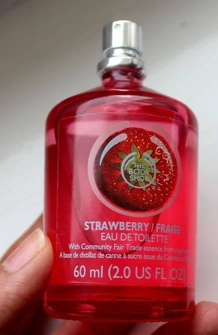 Edt Strawberry the shop strawberry eau de toilette review