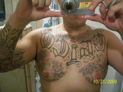 chest plate tattoo chest plate