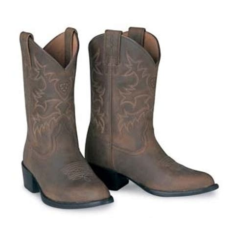 ariat boot ariat heritage western r toe boot