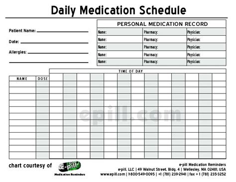 medication templates schedule search results for medication administration record excel