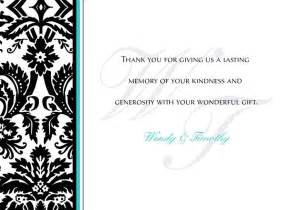 thank you note cards template wedding thank you cards wedding thank you card template