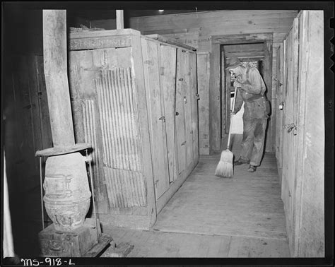 the locker room file cleaning up the locker room in the bathouse at the mine brilliant coal company calimet