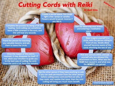 infographic cutting cords  reiki reiki rays