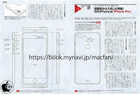 iphone 7 plus design drawings depict dimensions identical to iphone 6s plus mac rumors