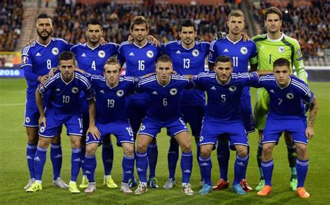 Bosnia And Herzegovina Fastis 2018 Bih Names Squad For 2018 World Cup Football Qualifiers