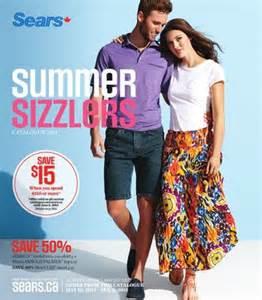 sears summer wear catalogue june 2014