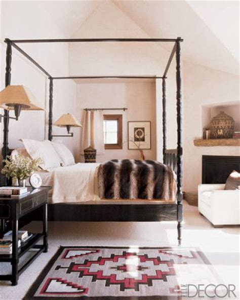 southwestern bedroom incorporating southwestern inspiration fireplaces style