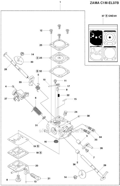 HUSQVARNA CHAINSAW REPAIR MANUAL SERIE 142 - Auto