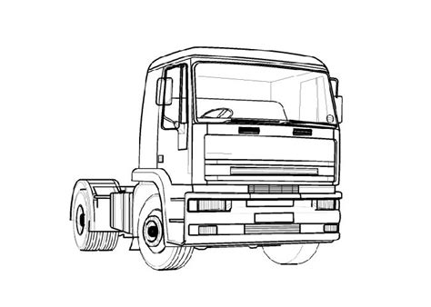 coloring book pages truck trucks coloring pages lets coloring