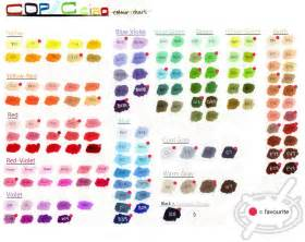 copic colors copic ciao colour chart by chamoise on deviantart