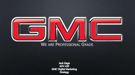 gmc we are professional grade gmc professional grade digital marketing strategy