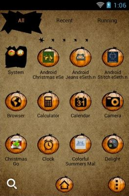theme line halloween android halloween boo android theme for go launcher androidlooks com