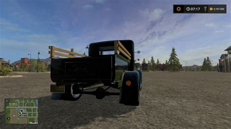 1930s Ls by 1930 Ford Model A Truck V1 0 Ls 2017 Farming Simulator