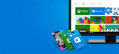 Microsoft Surface App Store Gift Card - microsoft gift cards xbox gift cards windows gift cards