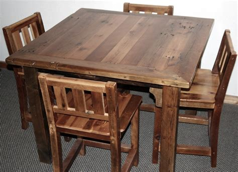 Restaurant Tables And Chairs Wholesale by Barn Wood Bar Table Chairs Jpg