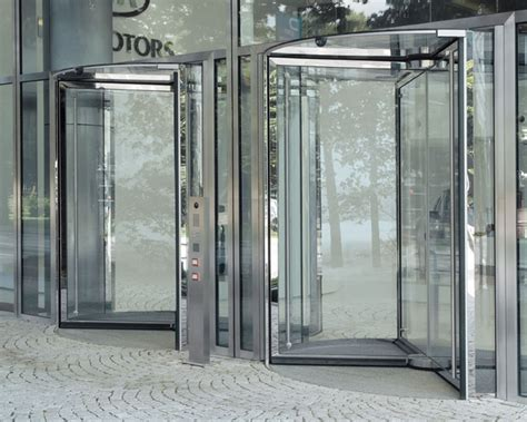 Revolving Glass Door Ggg All Glass Revolving Door Revolving Doors Automatic Entrance Systems Gretsch Unitas