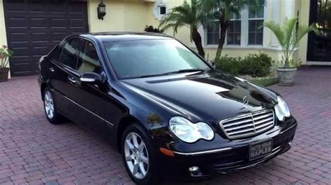 Mercedes C280 2007 Test Drive 2007 Mercedes C280 4matic For Sale By