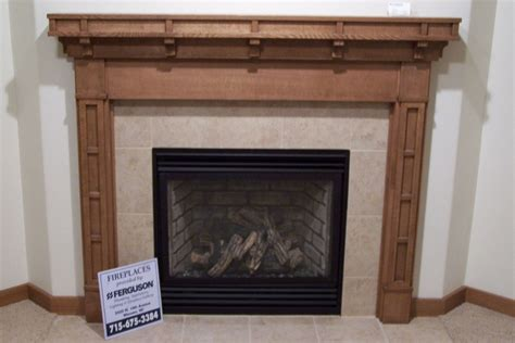 Handmade Fireplaces - handmade craftsman style fireplace surround by custom
