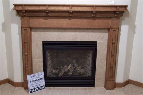 Handmade Craftsman Style Fireplace Surround by Custom