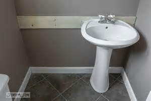 installing pedestal sink how to install a pedestal sink without wall studsfunky
