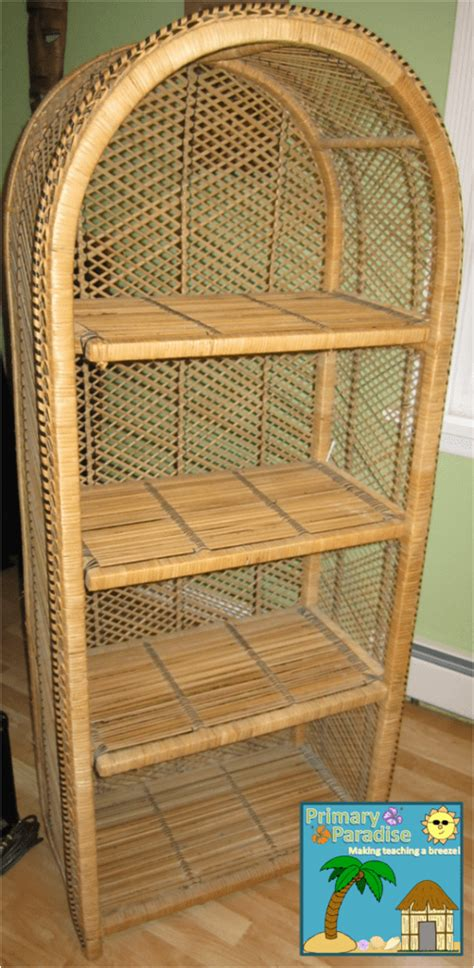 Wicker Desk Chair Yard Sale Find And Some Exciting News