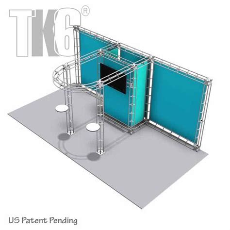 20 Tk Stel Kode 9831 ubjs 10ft x 20ft box truss trade show display booth with