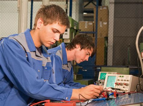 electronics technician  industrial engineering